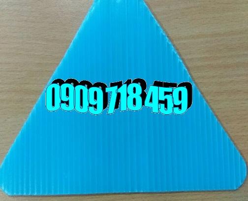 Tấm nhựa pp màu xanh hòa bình